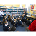 Visiting Charminster library