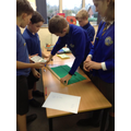 Measuring to ensure that the constants are kept the same.