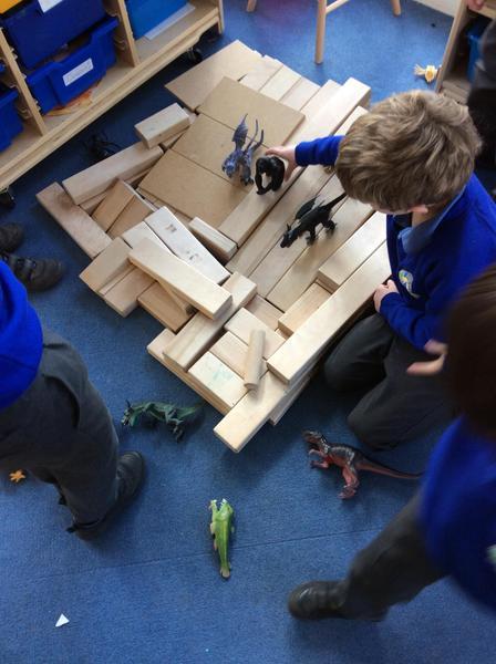 Building a Dragon battle arena.