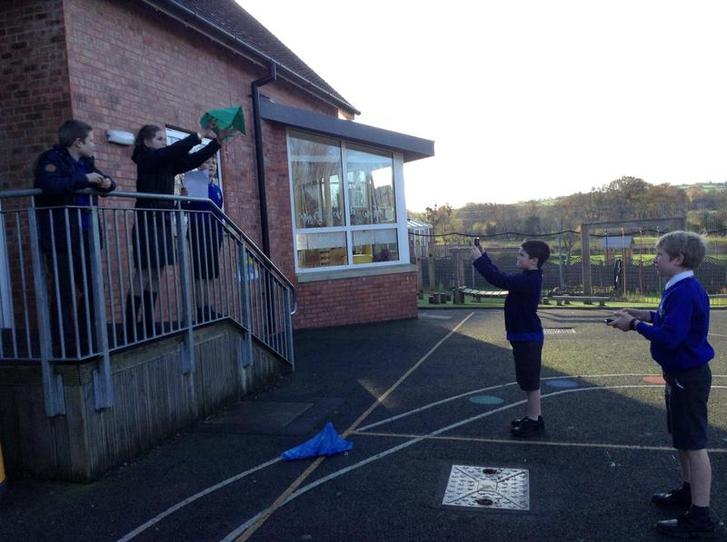 How well will the crepe paper parachute work?