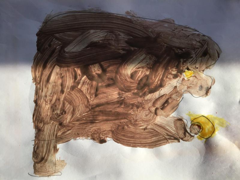 Alfie's monkey and banana