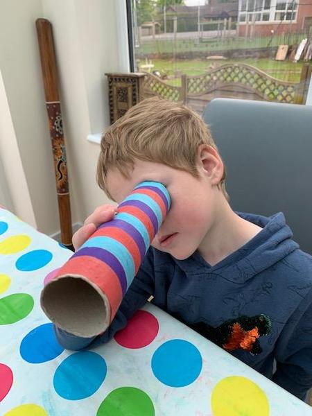 Archie made an excellent telescope .