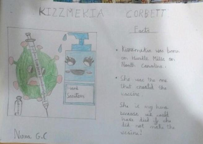 Kizzmekia Corbett by Nerea in Rose Class