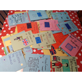 We sent and received letters from 16 countries