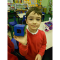 Making 3D shapes from nets in Maths