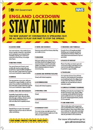 Stay at Home - Lockdown