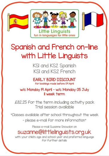 Spanish & French On-Line