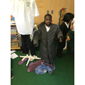 Do you really need Miss Walker's big coat Harouna?