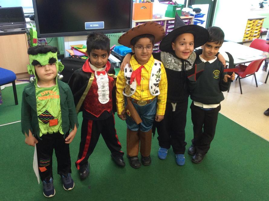 Lots of fairy tale boys!