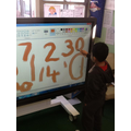 We are learning our numbers
