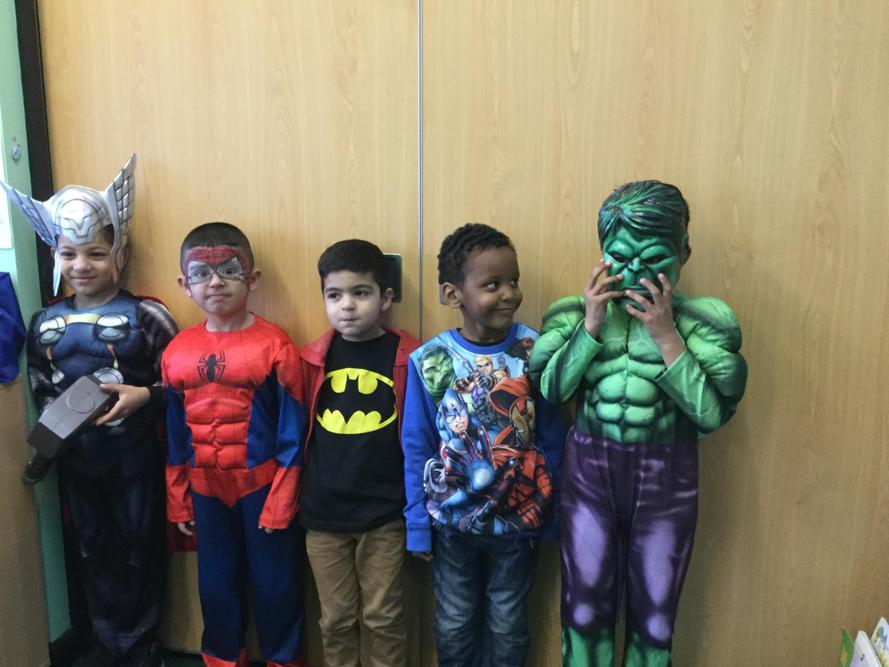 Superheroes to save the day!