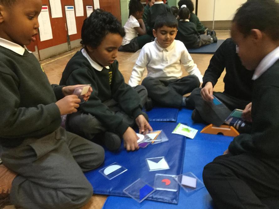 Some children found them challenging!