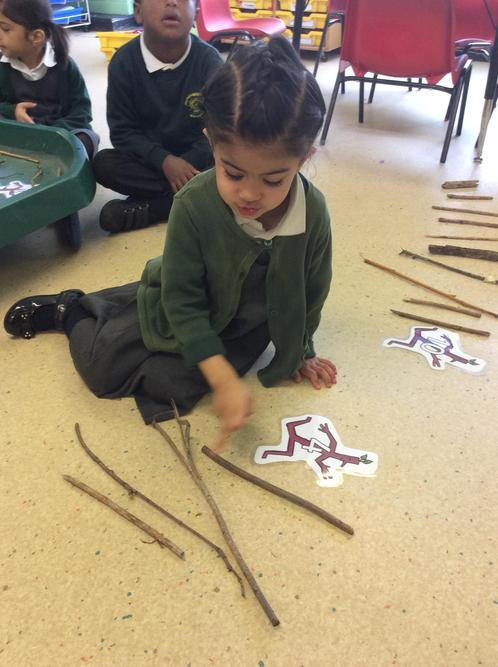 Counting sticks