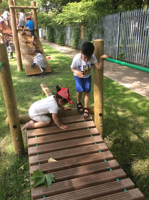We enjoyed playing together