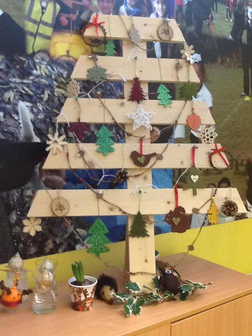 Happy Christmas from Forest School.