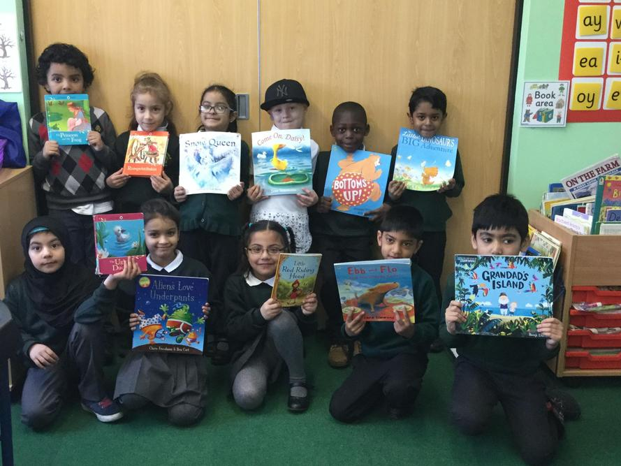 Some of our favourite books from our library!