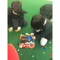 The children used different materials.