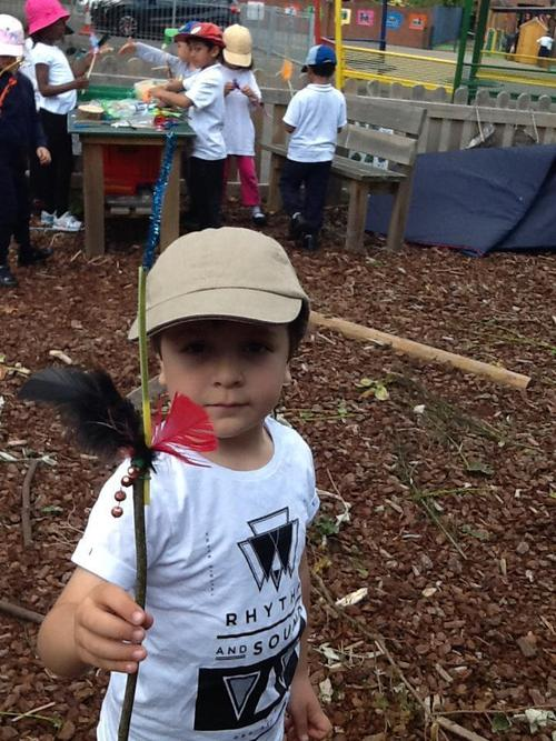 A proud wand maker