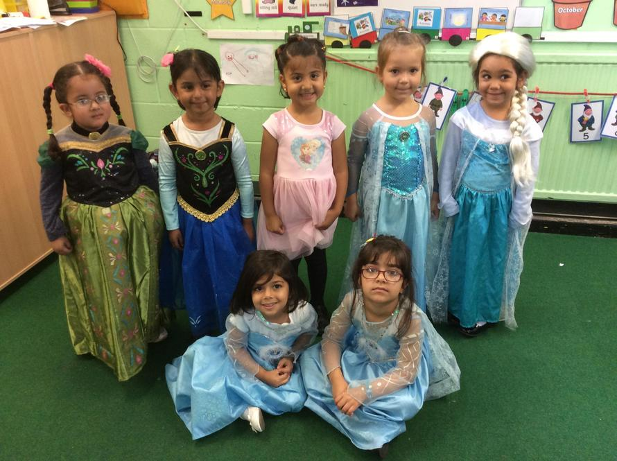 Lots of princesses