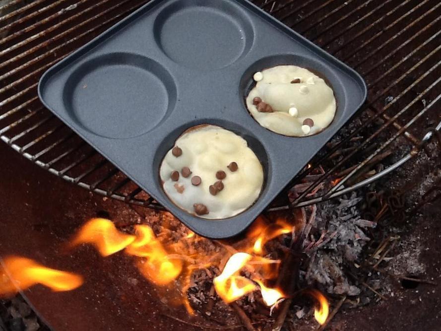 Choc chip pancakes were very popular