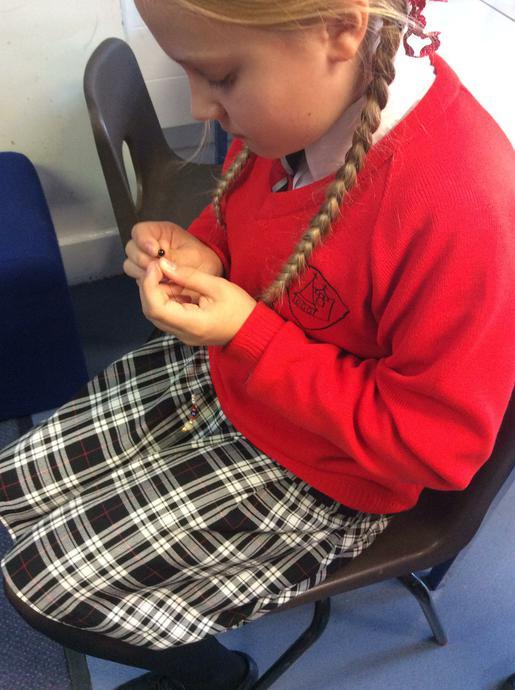 Creating Prayer bracelets