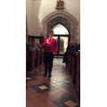Head boy starting the Carol Service