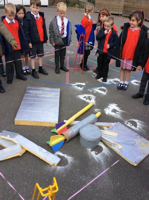 Investigating a disturbance on the playground