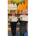 Celebrating reading achievements!