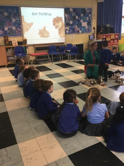 Everyone took part in the workshops.