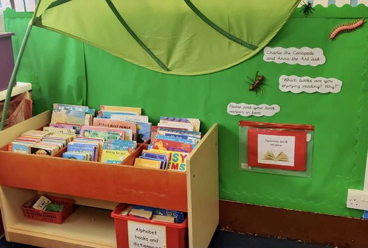 You can post your own book reviews in the Reading Garden.