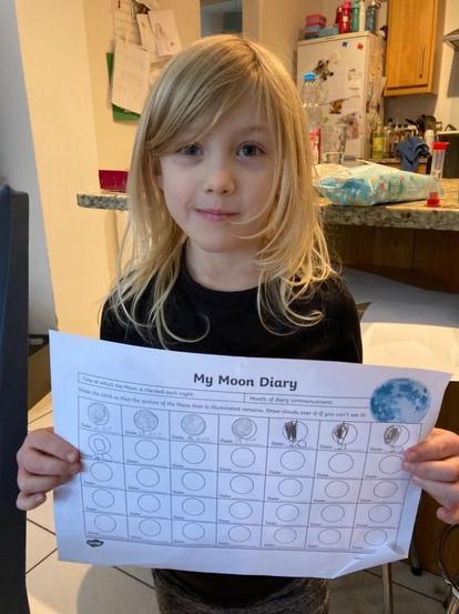 Elodie's Moon Diary