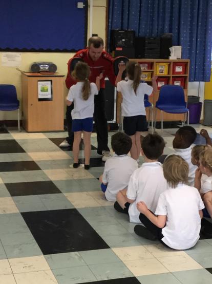 Meridian Kung fu taught us some skills