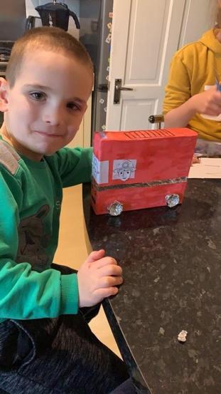 Damian's Fire Engine
