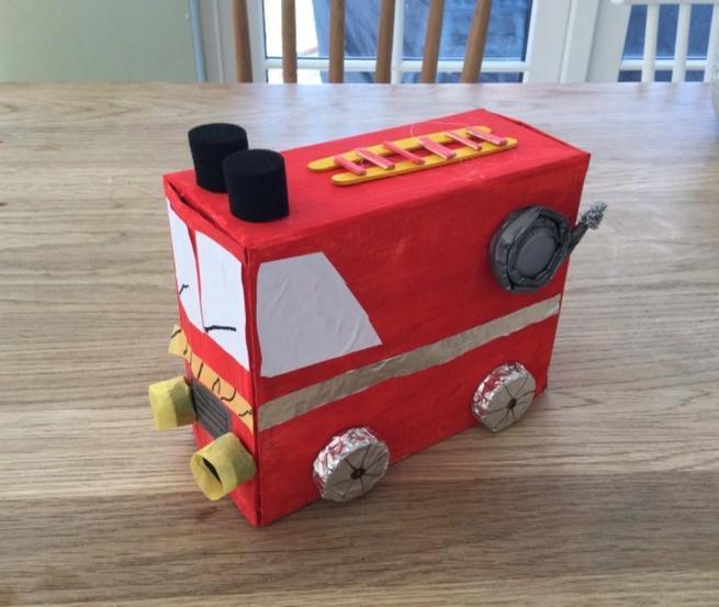 Tabitha's Fire Engine