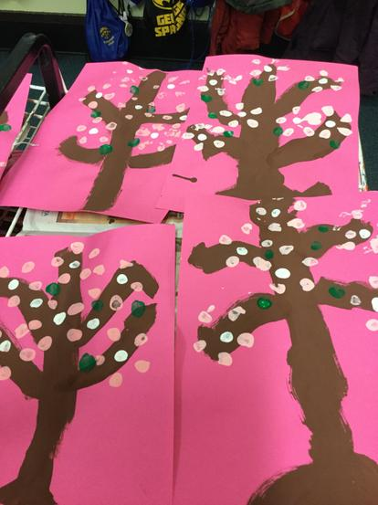 We used different skills to make blossom