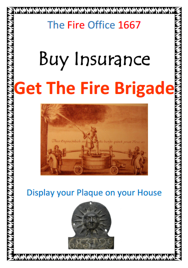 Maddie's fantastic 1666 house insurance poster