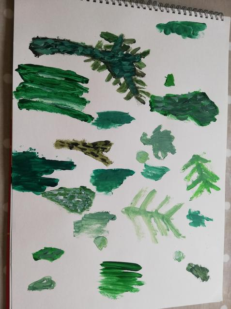 Elizabeth's leaves