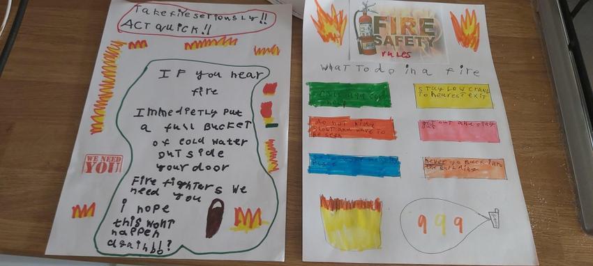 Jake's super fire poster