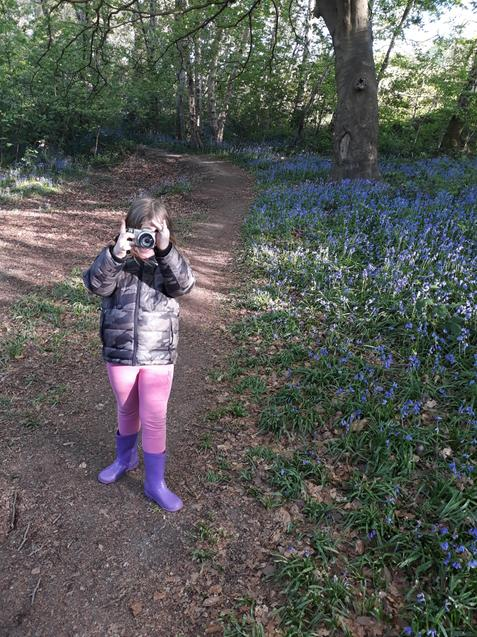 A on her wildlife photography walk