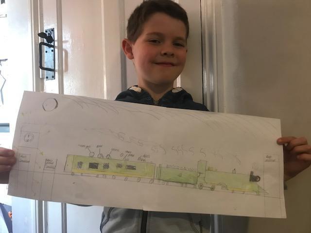 And a super train too