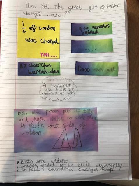 Maddie's lovely work.