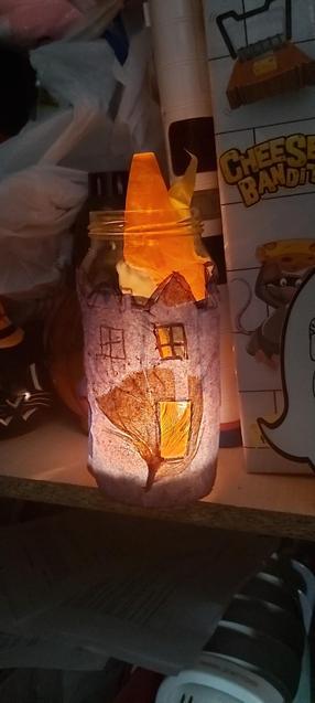 Jake made a Fire of London lantern