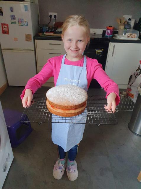 That cake looks amazing!