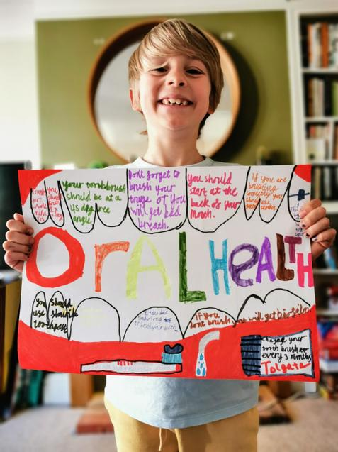 F shows us lots of ways to maintain oral health