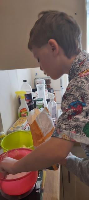 J weighing carefully