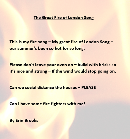 Erin made a song to show the ways.