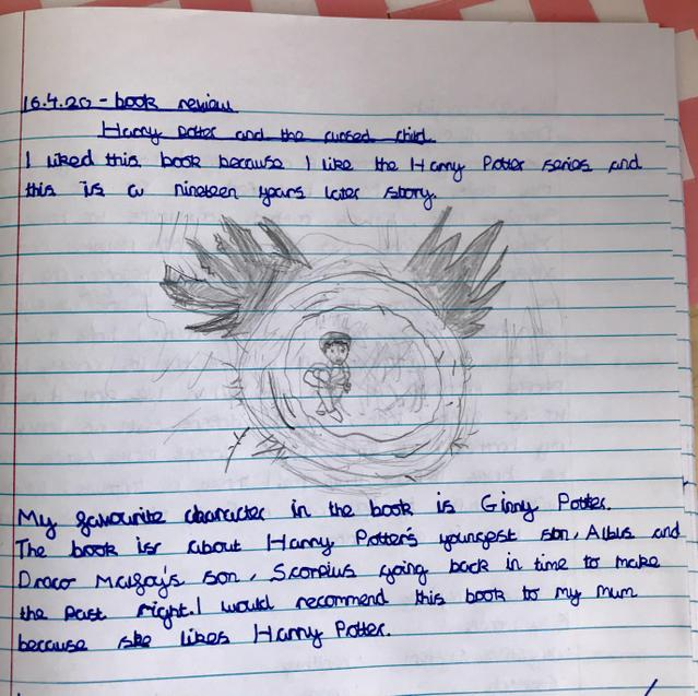 F's book review of The Cursed Child