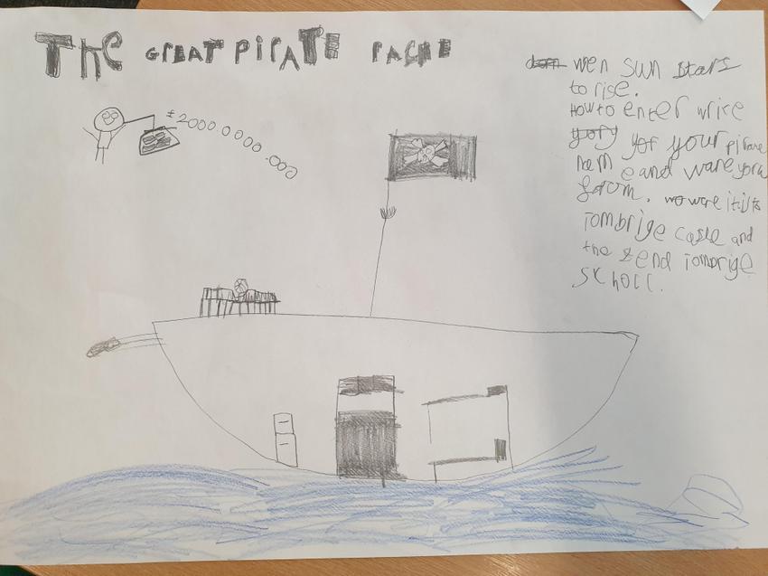 Jernade's boaty poster