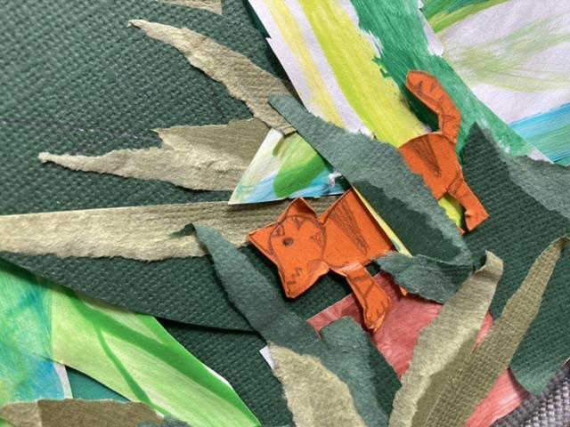 Did you spot Betsy's tiger hiding?