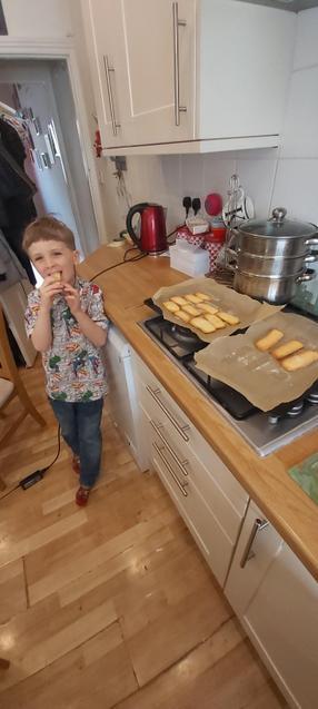 J and his delicious shortbread